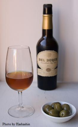 Sherry, amontillado